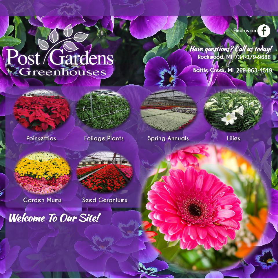 Post Gardens Greenhouse, postgardens.com